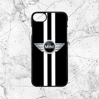 Mini Cooper Car Black White Logo