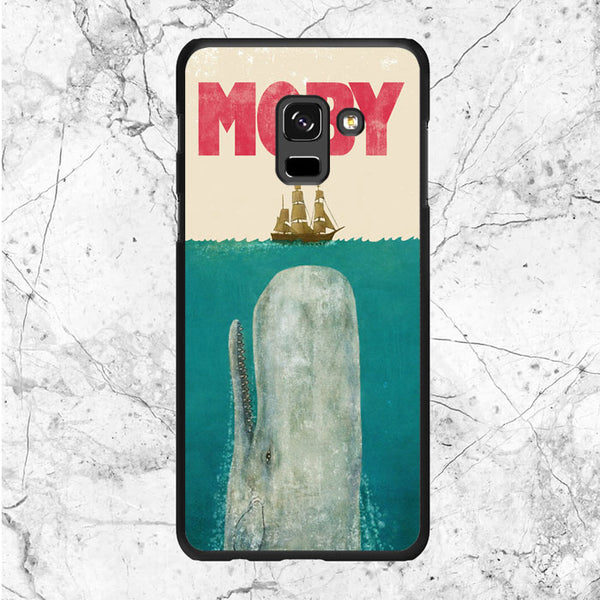 Moby Dick Jaws Poster Samsung Galaxy A8 Plus 2018 Case