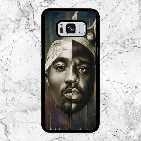 New Biggie And Tupac Face Rap Hip Hop Samsung Galaxy S8 Case | Sixtyninecase