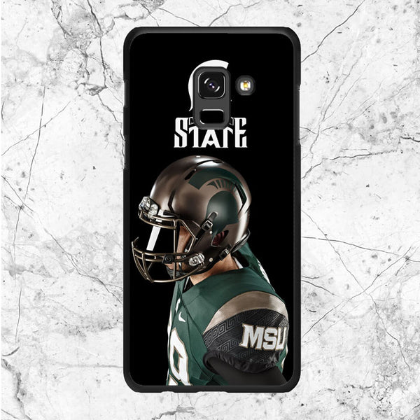 New Michigan State Football Samsung Galaxy A8 Plus 2018 Case
