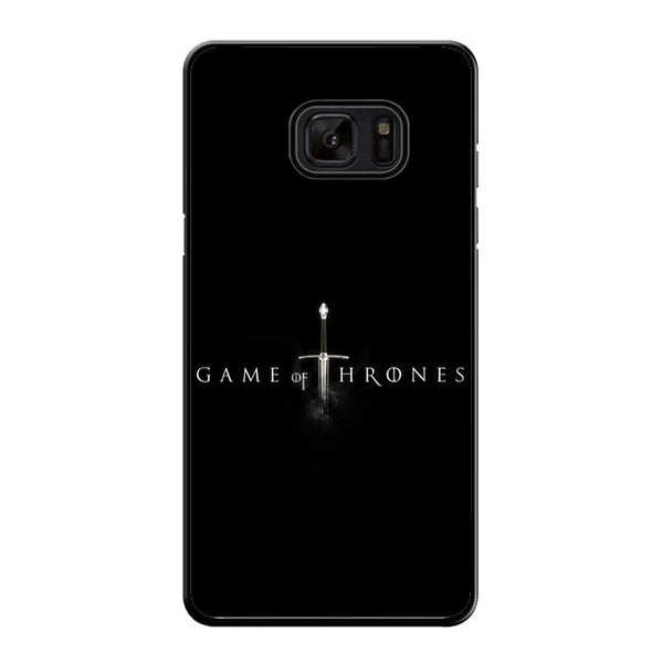 Game Of Thrones Logo Samsung Galaxy Note 7 Case - Sixtyninecase