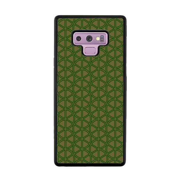Abstract Green Lemon Samsung Galaxy Note 9 Case - Sixtyninecase