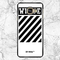 Off White Flagship Samsung Galaxy A9 Pro Case