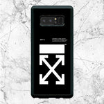 Off White Logo Samsung Galaxy Note 8 Case
