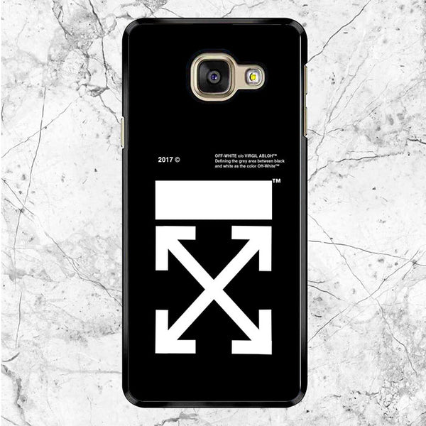 Off White Logo Samsung Galaxy A9 Pro Case