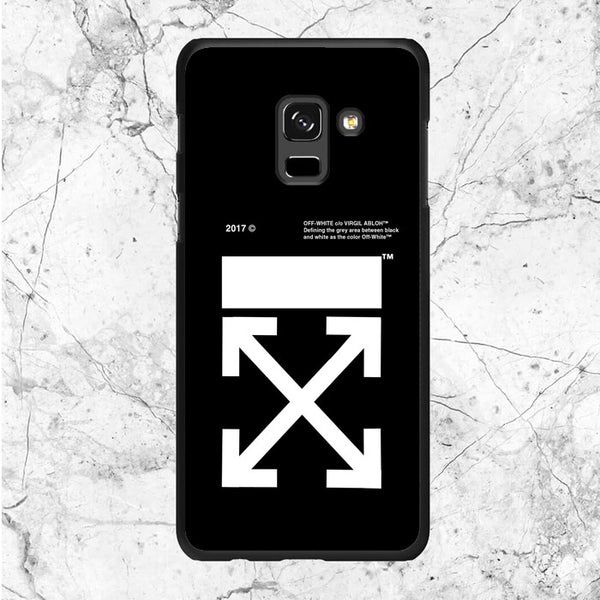 Off White Logo Samsung Galaxy A8 2018 Case