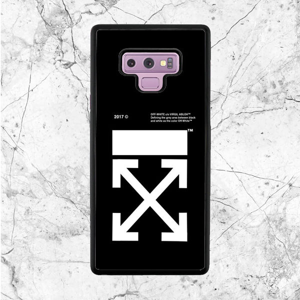 Off White Logo Samsung Galaxy Note 9 Case