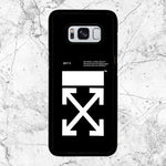 Off White Logo Samsung Galaxy S8 Plus Case