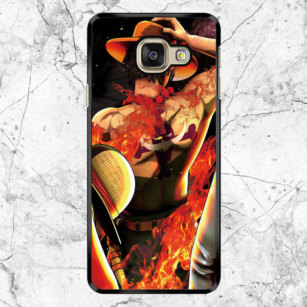 One Piece Portgas D Ace Samsung Galaxy A9 Case