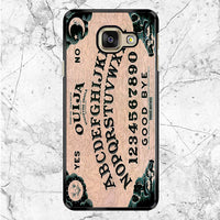 Ouija Board Alphabet Samsung Galaxy A9 Case