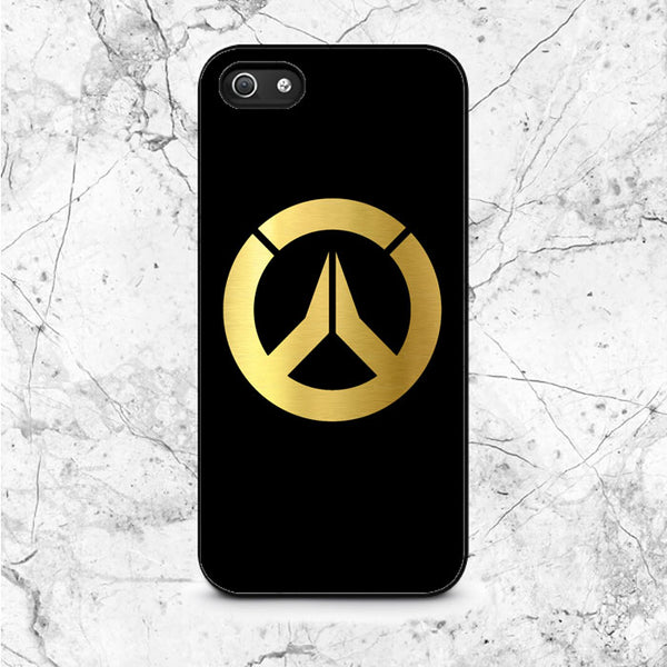 Overwatch Gold Logo iPhone 5|5S|SE Case