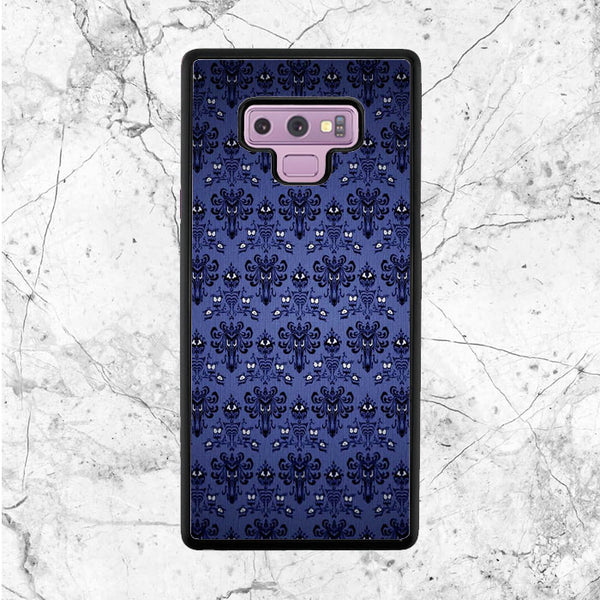 Pattern Wall Haunted Mansion Samsung Galaxy Note 9 Case