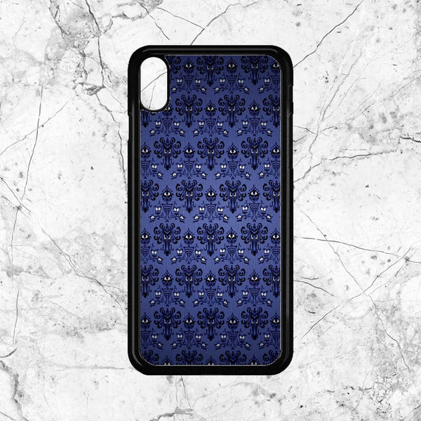 Pattern Wall Haunted Mansion iPhone XS Max Case