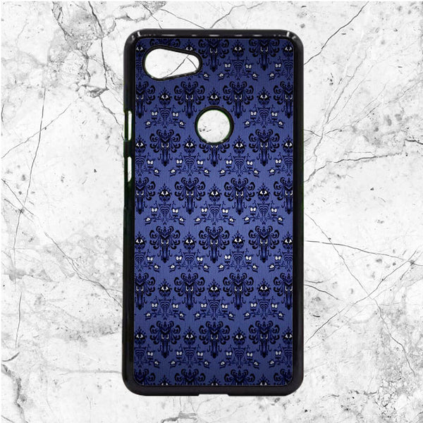 Pattern Wall Haunted Mansion Google Pixel 3 XL Case