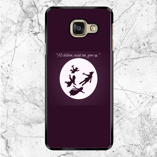 Peter Pan To Neverland Quotes Samsung Galaxy A9 Case