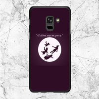 Peter Pan To Neverland Quotes Samsung Galaxy A8 Plus 2018 Case