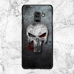 Punisher Metal Texture Samsung Galaxy A6 2018 Case | Sixtyninecase
