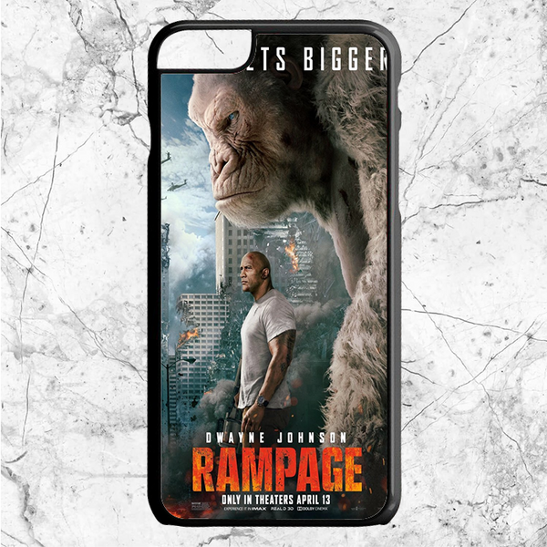 Rampage Movie Poster iPhone  6 Plus | 6s Plus | Case | Sixtyninecase