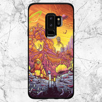 separation shoes b6277 779df Rick And Morty Adventure Samsung Galaxy S9 Case
