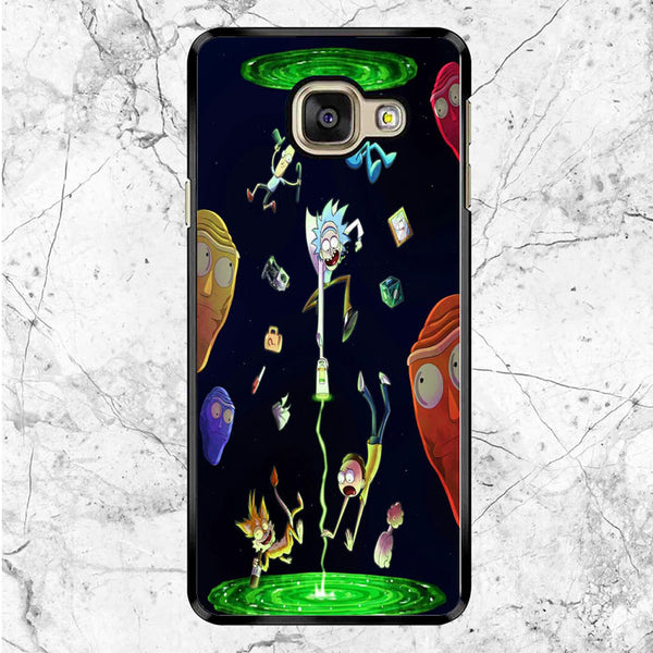 Rick And Morty Teleport Samsung Galaxy A9 Pro Case