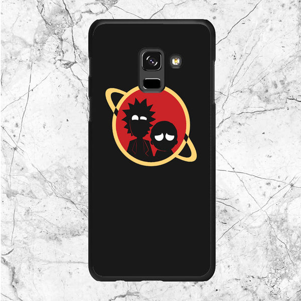 Rick Morty Dont Panic Samsung Galaxy A8 2018 Case