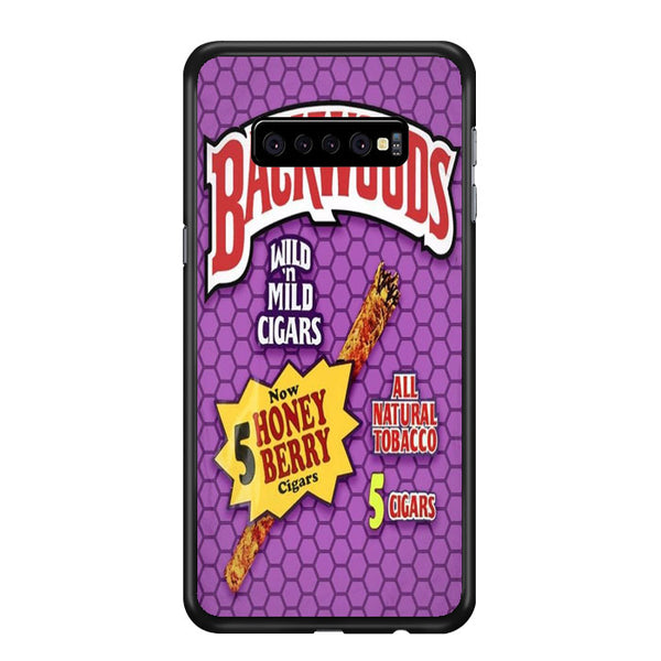 Backwoods Honey Berry Cigars Samsung Galaxy S10 Plus Case - Sixtyninecase