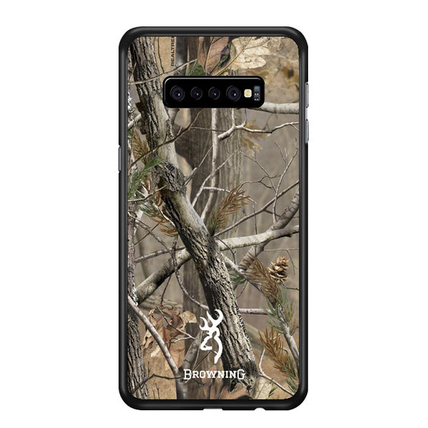 Browning Deer Logo Realtree Samsung Galaxy S10 Plus Case - Sixtyninecase