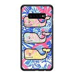 Lilly Pulitzer Vineyard Vines Whale Samsung Galaxy S10 Plus Case - Sixtyninecase