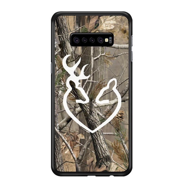 Love Browning Deer Camo Realtree Samsung Galaxy S10 Plus Case - Sixtyninecase