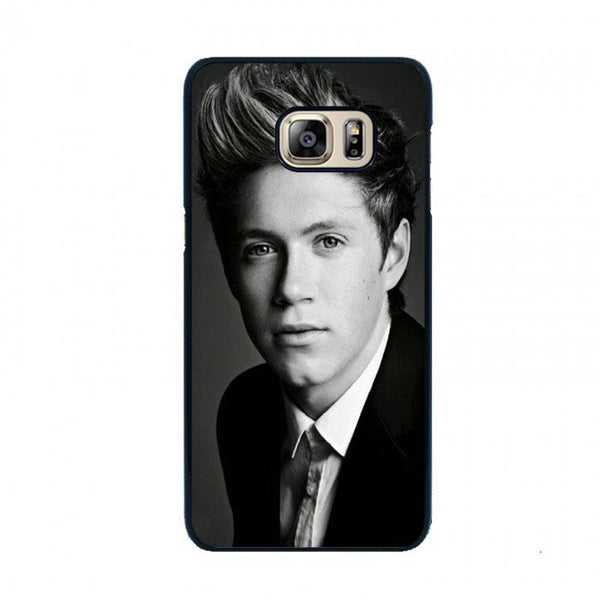 Black White One Direction Niall Horan Samsung Galaxy S6 Case - Sixtyninecase