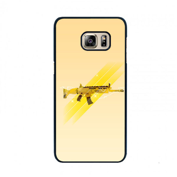 Fortnite Golden Scar Samsung Galaxy S6 Edge Plus Case - Sixtyninecase