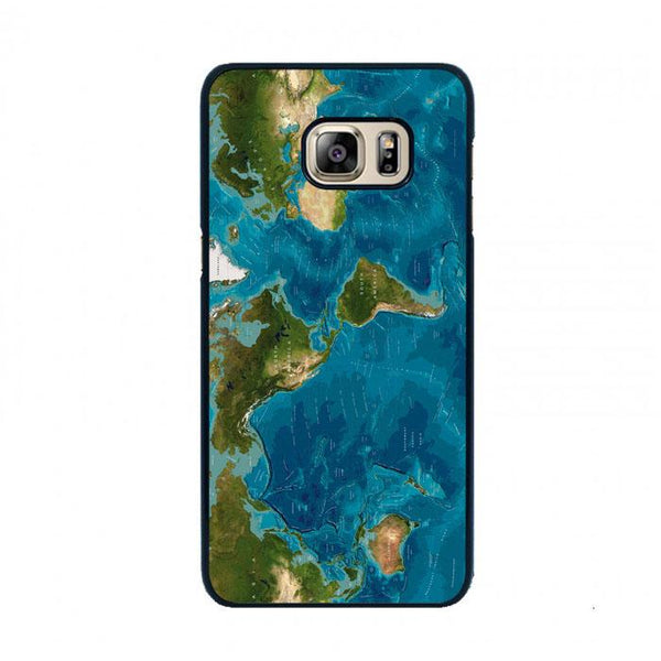 World Map Oil Painting Samsung Galaxy S6 Case - Sixtyninecase