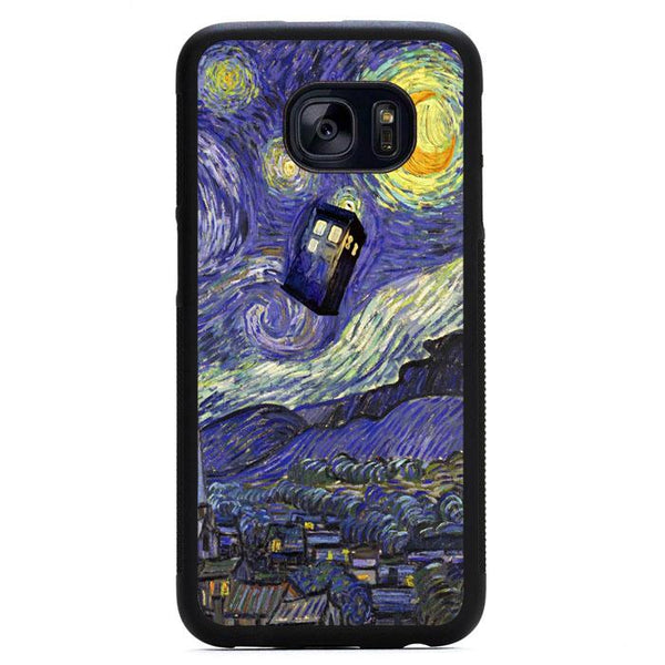 Tardis Doctor Who Starry Night Samsung Galaxy S7 Case - Sixtyninecase