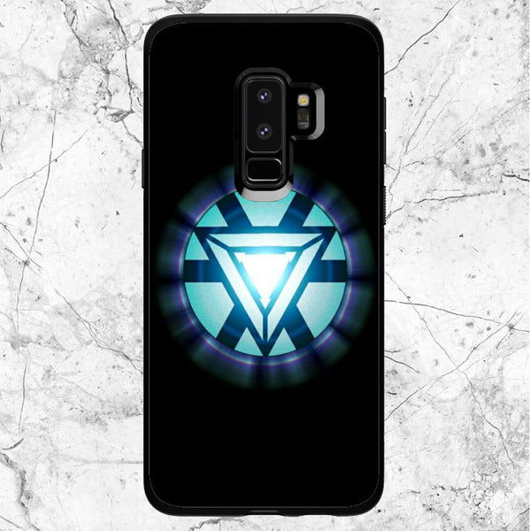 Ironman Glowing Logo Samsung Galaxy S9 Plus Case