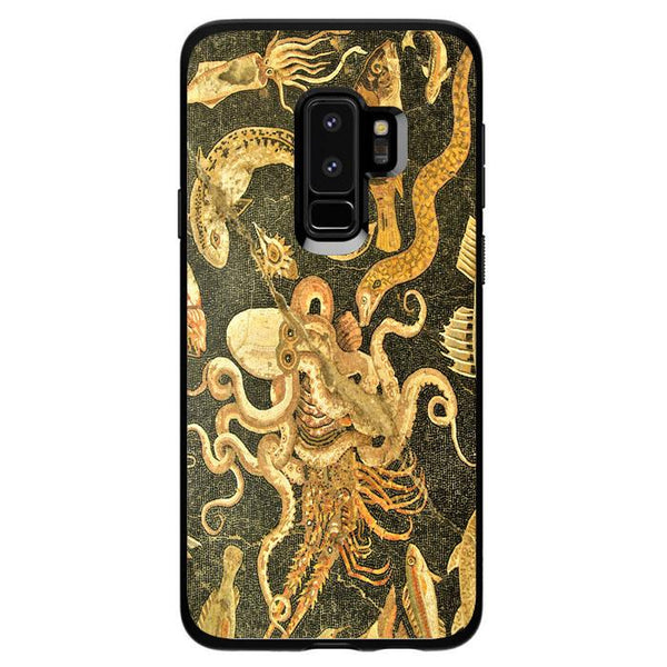 Vintage Octopus Painting Art Samsung Galaxy S9 Plus Case - Sixtyninecase