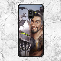 Shimada Brother Dragons Overwatch Samsung Galaxy A8 2018 Case