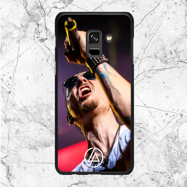 Sing Chester Bennington Live Samsung Galaxy A6 2018 Case | Sixtyninecase
