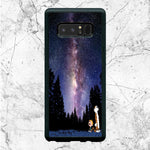 Sky Night Calvin And Hobbes Samsung Galaxy Note 8 Case