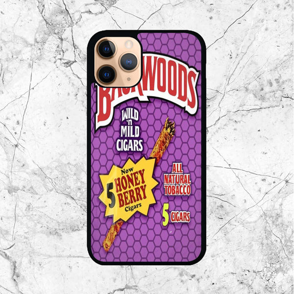 Backwoods Honey Berry Cigars iPhone 11 Pro Max Case - Sixtyninecase
