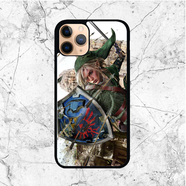 Zelda Link War iPhone 11 Pro Max Case - Sixtyninecase