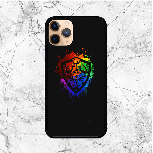 Zelda Shield Watercolor iPhone 11 Pro Case - Sixtyninecase