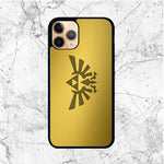 Zelda Triforce Gold Logo iPhone 11 Pro Case - Sixtyninecase