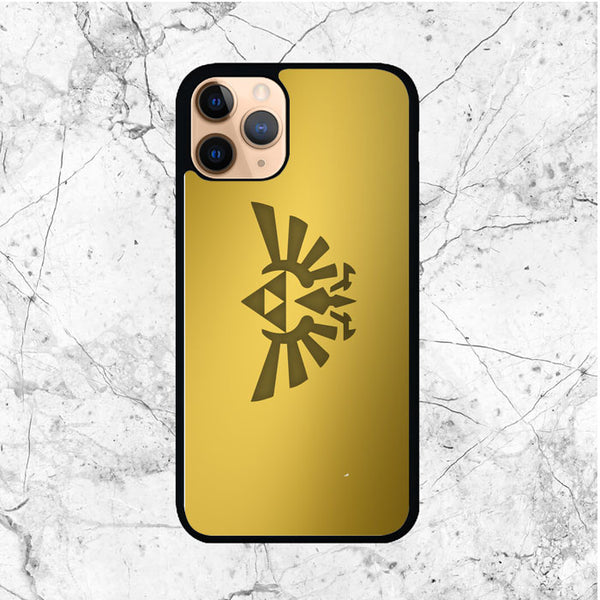 Zelda Triforce Gold Logo iPhone 11 Pro Max Case - Sixtyninecase