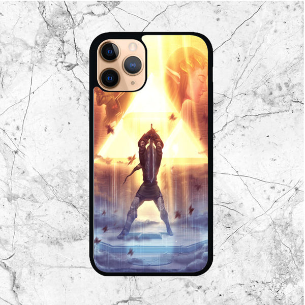 Zelda Triforce Link iPhone 11 Pro Max Case - Sixtyninecase