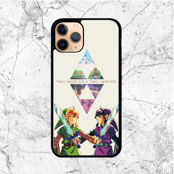 Zelda Two Worlds Two Heroes iPhone 11 Pro Max Case - Sixtyninecase
