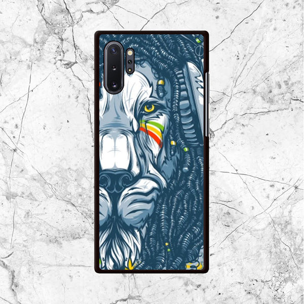 Warrior Lion Rasta Samsung Galaxy Note 10 Case - Sixtyninecase
