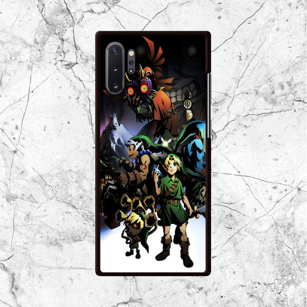 Zelda Character And Majoras Samsung Galaxy Note 10 Plus Case - Sixtyninecase