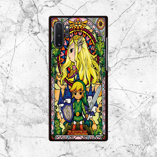 Zelda Link Castle Art Samsung Galaxy Note 10 Plus Case - Sixtyninecase