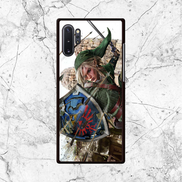 Zelda Link War Samsung Galaxy Note 10 Plus Case - Sixtyninecase