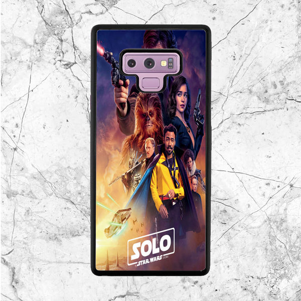 wholesale dealer 5756e a3e1c Solo Star Wars Samsung Galaxy Note 9 Case | Sixtyninecase
